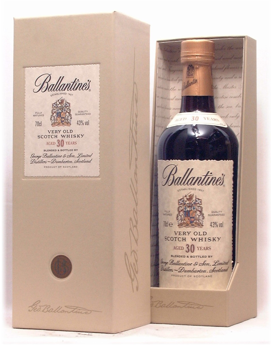 Ballantine S Very Old Blended Scotch Whisky Aged 30 Yrs Review